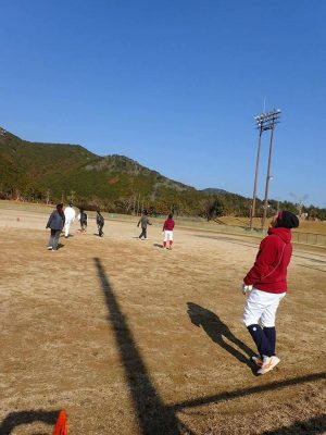 20170123_02和歌山ファイティングバーズNANAの練習風景