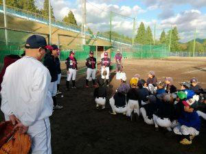 ふれあい野球教室@龍神少年野球クラブ