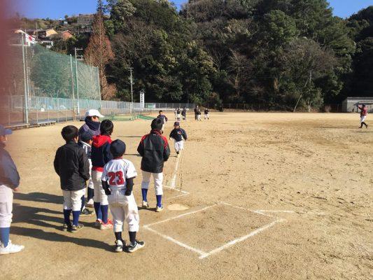 2018年2月11日 子ども野球教室の様子05