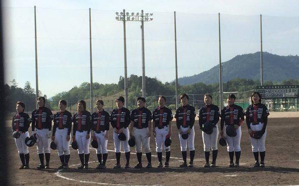 『第9回関西女子硬式野球選手権大会』三回戦の結果