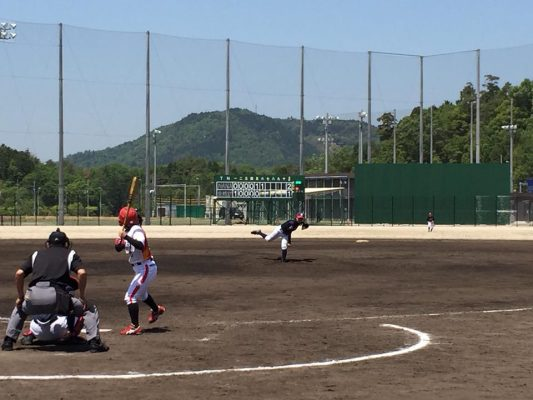 第9回 関西女子硬式野球選手権ラッキートーナメント二回戦は7-1で逆転勝利