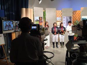 テレビ和歌山「わくわく編集部」に出演しました!