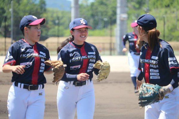 関西女子硬式野球リーグ 2018ラッキーリーグ NANAの初戦