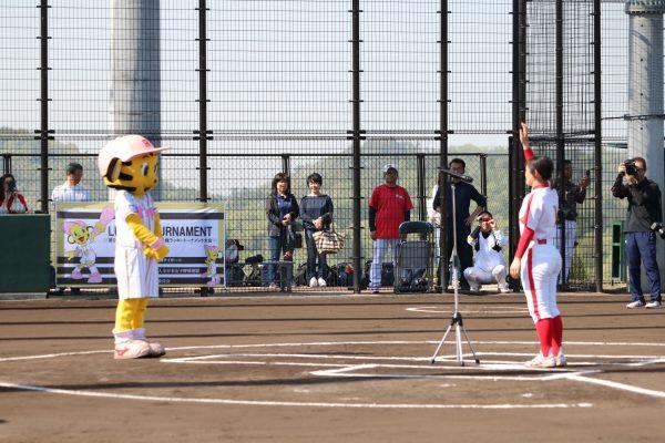 2018.4.21関西女子硬式野球選手権開会式