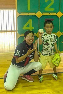 大塔地球元気村2018 野球教室04