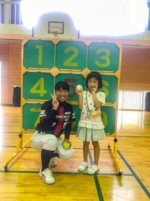 大塔地球元気村2018 野球教室05