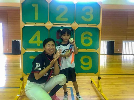 大塔地球元気村2018 野球教室06